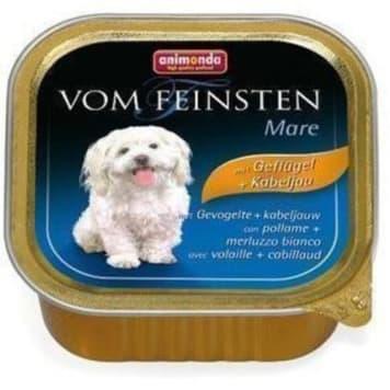 Pokarm dla psa z drobiem i dorszem- Animonda to pyszny i lekki posiłek.