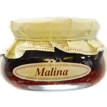 Konfitura malinowa - KROKUS. Intensywny smak i delikatna konsystencja.