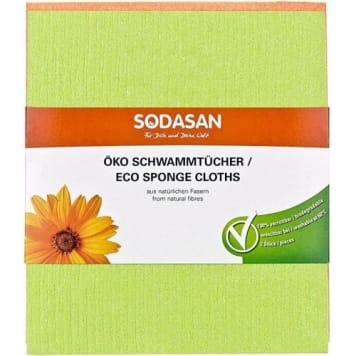 Zmywaki gąbczaste – Sodasan zostały wykonane z naturalnych i niezwykle wytrzymałych surowców.