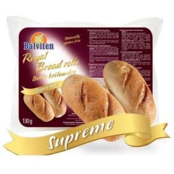 Bułki bezglutenowe - Balviten. Pieczywo bezglutenowe ze skrobi kukurydzianej i mąki ryżowej.