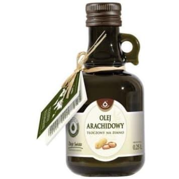 Olej arachidowy - Olefarm. Doda smaku potrawom na zimno.