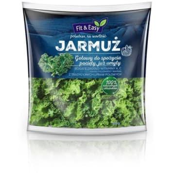 Jarmuż - Fit&Easy jest niskokaloryczny i zawiera wiele składników mineralnych.