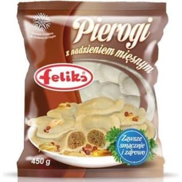 Pierogi z mięsem mrożone - Feliks. Klasyczne danie kuchni polskiej bez wysiłku.