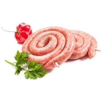 Spiralne kiełbaski wieprzowe – Frisco fresh w składzie zawierają najdelikatniejszą wieprzowinę.