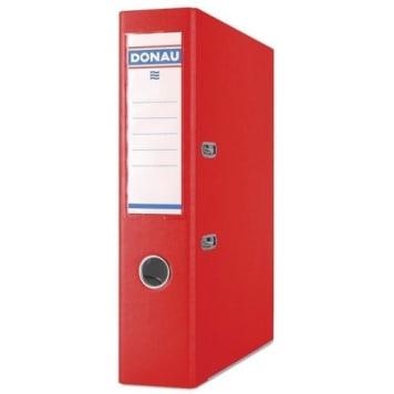 Donau - Czerwony segregator Master PP A4/75. Przechowywanie dokumentów w uporzątkowany sposób.