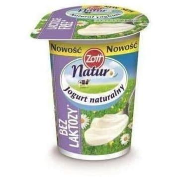 Jogurt naturalny bez laktozy - Zott