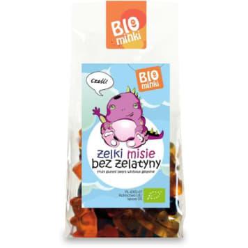 Żelki bez żelatyny - Biominki. Słodka, naturalna przekąska dla nie tylko dla dzieci.