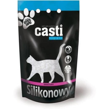 CASTI Premium Żwirek silikonowy zapach kwiatowy 3.8l