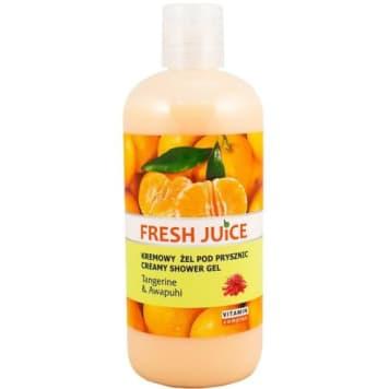 Żel pod prysznic Tangerine & Awapuhi - Fresh Juice nawilży twoją skórę pod prysznicem.