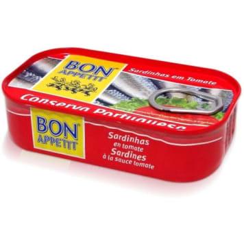 BON APPETIT Sardynki portugalskie w sosie pomidorowym 120g