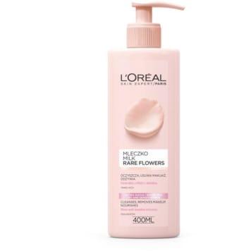 Mleczko do skróy wrażliwej Kwiaty szlachetne - Loreal delikatnie myje i nawilża skórę.