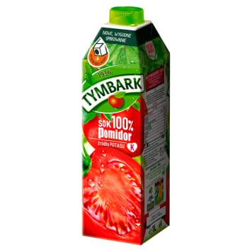 Tymbark - sok 100% o smaku pomidorowym, 1000 ml. Idealny dodatek do codziennej diety.
