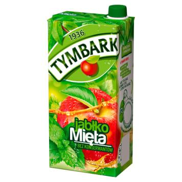 Tymbark – Napój jabłkowo-miętowy jest pyszny i skutecznie gasi pragnienie.