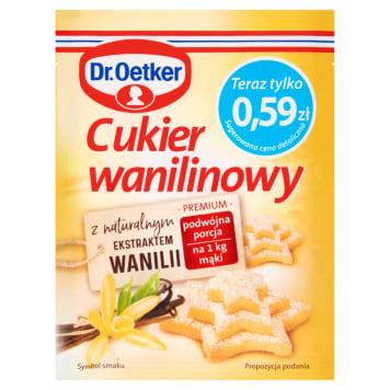 Cukier wanilinowy do ciast i deserów - Dr. Oetker