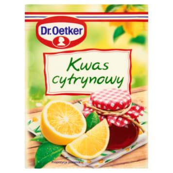 Kwasek cytrynowy - Dr. Oetker