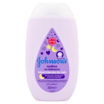 Mleczko do ciała na dobranoc – Johnsons Baby delikatnie ukołysze do snu zapachem.