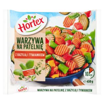 Warzywa na patelnię z bazylią - Hortex to pomysł na zdrowy obiad.