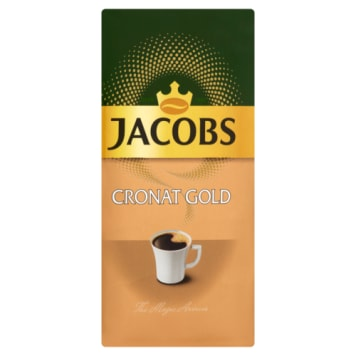 Jacobs Cronat Gold - Kawa mielona. Bogaty i pobudzający smak kawy.