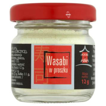 Wasabi w proszku to prawdziwie ostry smak, dlatego należy stosować je z umiarem.