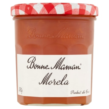 Dżem morelowy – Bonne Maman. Francuska tradycja, receptura i smak zamknięte w słoiku.