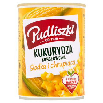 Kukurydza konserwowa - Pudliszki
