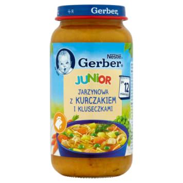 Gerber - Zupa jarzynowa dla dzieci po 12. miesiący. Szybkie i smaczne danie dla małych dzieci.