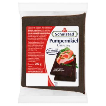 Wysokiej jakości chleb żytni pumpernikiel – Schulstad. Wypiekany według klasycznej receptury.