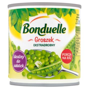 Bonduelle-Groszek extra drobny 200 g to prawdziwe bogactwo witamin i minerałów.