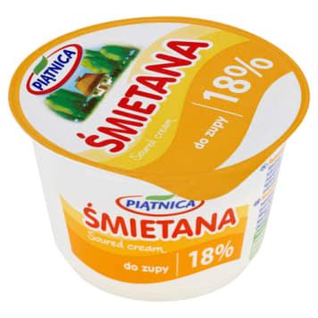 Śmietana 18% do ciepłych zup i potraw - Piątnica