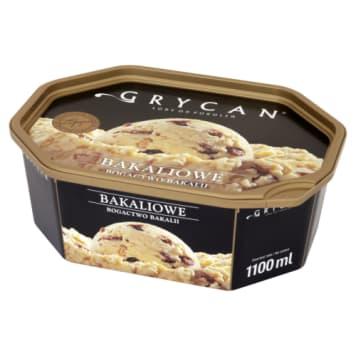 Grycan-naturalne lody familijne bakaliowe 1100ml. Tworzone z naturalnych składników.