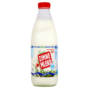 Zimne mleko czyste filtrowane 3,2% - Robico