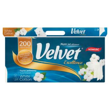 Papier toaletowy - Velvet. Gwarancja niezwykłej delikatności oraz wysokiej jakości.