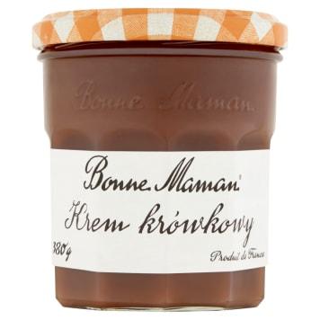 Krem krówkowy – Bonne Maman. Przepyszny specjał o słodkim i jedwabistym smaku.