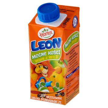 HORTEX LEON-Napój jabłko brzoskwinia pomarańcza. Zdrowy sok dla dzieci
