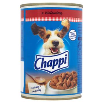 Pokarm dla psów - Chappi. Najlepszy, zdrowy pokarm dla Twojego pupila.