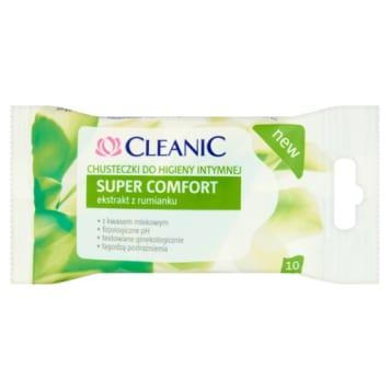 Chusteczki do higieny intymnej Cleanic pielęgnują i działają przeciwzapalnie.