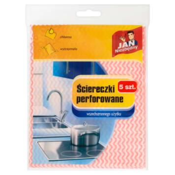 Ściereczki perforowane Jan Niezbędny to rzecz niezbędna w czyszczeniu kuchni.