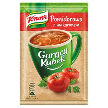 Pomidorowa z makaronem - Gorący Kubek