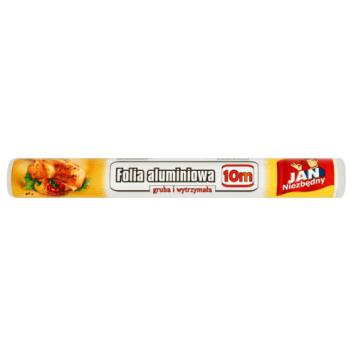 Jan Niezbędny - folia aluminiowa 10m. Niezbędny produkt w każdej kuchni.