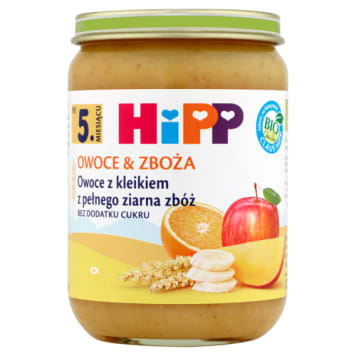 Kleik z pełnego ziarna - Hipp. Idealne uzupełnienie diety dziecka.