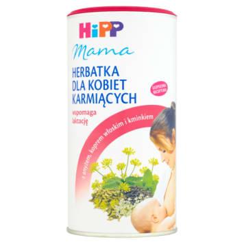 Herbatka dla kobiet karmiących - HIPP Mama. Świetnie smakuje, gasi pragnienie i wspiera laktację.