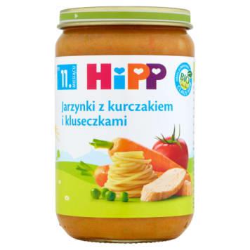 HIPP jarzyny, kurczak, kluski od 11 miesiąca 220g - dla naszych dzieci tylko najlepsze produkty.