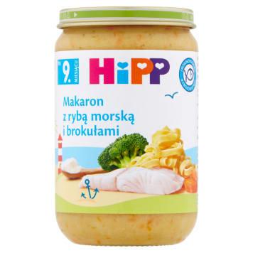 Makaronb z rybą morską - Hipp Junior. Szybki i pożywny obiad dla malucha.