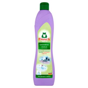 Lawendowe mleczko do szorowania – Frosch. Mleczko przeznaczone do czyszczenia kuchni i łazienki.