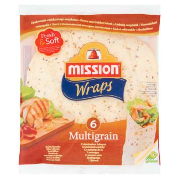 Tortilla pszenna z siemieniem lnianym - Mission
