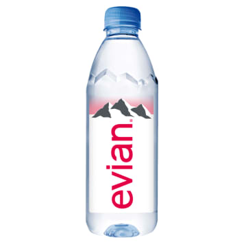 Woda mineralna - Evian. Nautralna woda mineralna prosto z Francji.