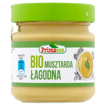 Musztarda łagodna Bio - Primaeco to produkt na bazie naturalnych składników, o dobrym smaku.