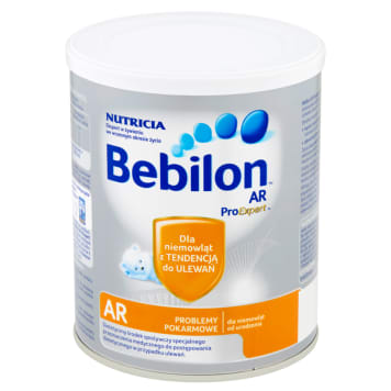 Bebilon AR ProExpert Dietetyczny środek spożywczy dla niemowląt od urodzenia 400 g. W skuteczny sposób zastępuje mleko matki.