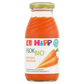 Hpp - Soczysta marchew bio po 4. miesiącu to doskonały, ekologiczny produkt dla najmłodszych.