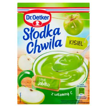 Kisiel jabłkowy z witaminą C Słodka Chwila – Dr. Oetker jest łatwy do przygotowania.